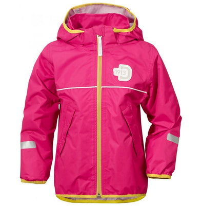 Didriksons Kids Viskan Waterproof Jacket - Fuchsia