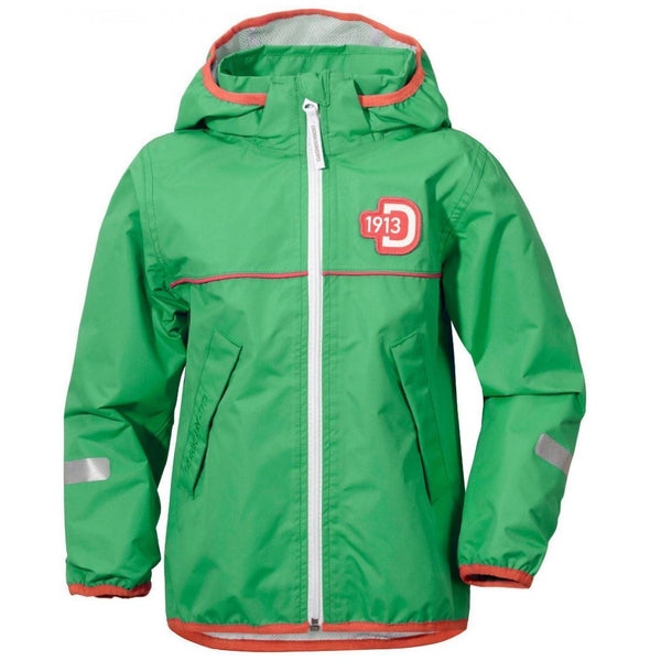Didriksons Kids Viskan Waterproof Jacket - Green