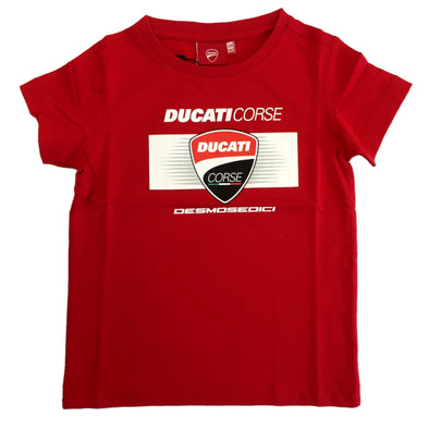 Ducati Corse Kids T-Shirt | Red | 2019