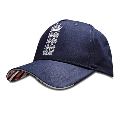 ECB England Cricket Patriotic Classic Baseball Cap | Navy | 2019 | Adult