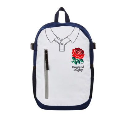 England RFU Rugby Core Backpack | White/Navy | 2019