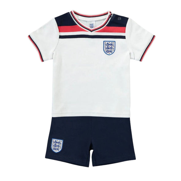 England Football 1982 Retro Baby T-Shirt & Shorts Set | 2021