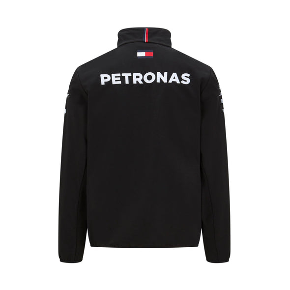 Mercedes AMG Petronas Men's Team Softshell Jacket | Black | 2020