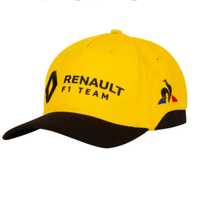 Renault Sport Kids Team Baseball Cap | Yellow | 2019