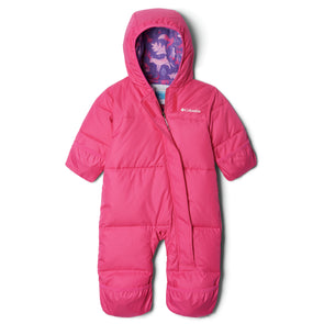 Columbia Snuggly Bunny Bunting Baby Snowsuit | Pink Ice