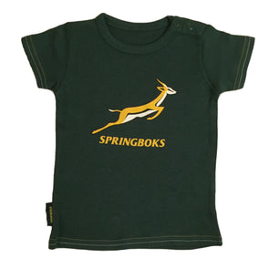 Springboks Rugby Baby Large Logo T-shirt | 2018