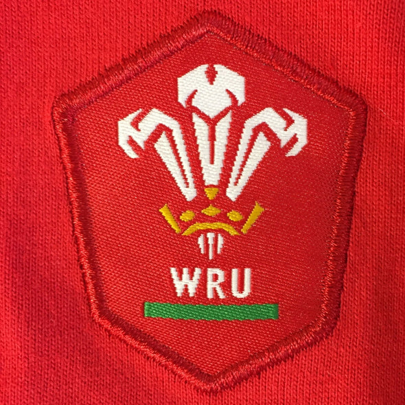 Wales WRU Rugby Baby/Toddler Long Sleeved Shirt | Red | 2021