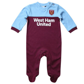 West Ham United Baby Kit Sleepsuit | 2019/20 Season