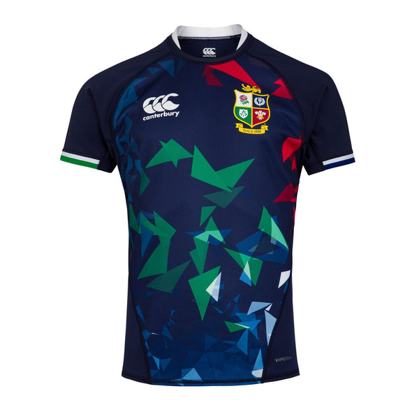 Canterbury British & Irish Lions Rugby Training Jersey | Mens | Peacoat Blue | 2021