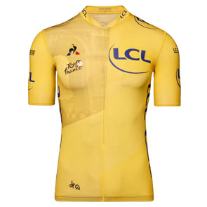 Tour de France Le Coq Sportif Men's Replica Arrivee Jersey | Yellow | 2020