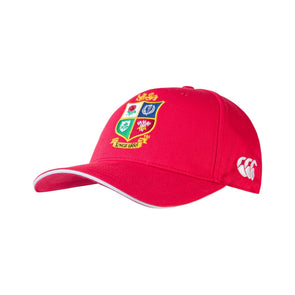 Canterbury British & Irish Lions Rugby Baseball Cap | Red | 2021 | Adult