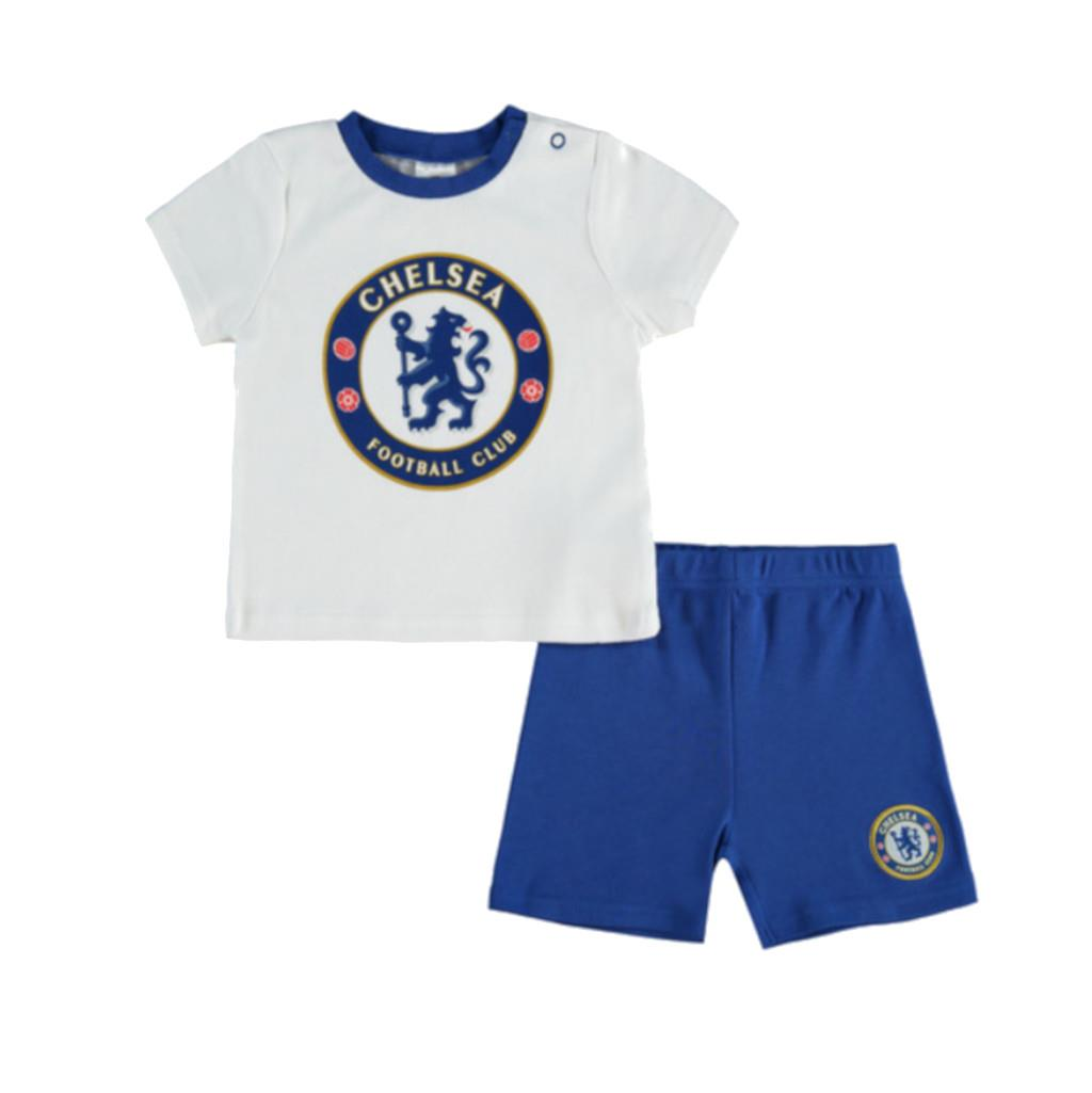 huge discount b5ab4 7100a Chelsea Baby Kit T-shirt & Shorts Set | 2019/20