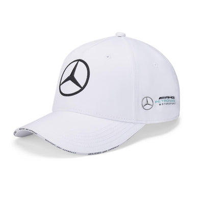 Mercedes AMG Petronas Team Baseball Cap | White | Adult | 2020