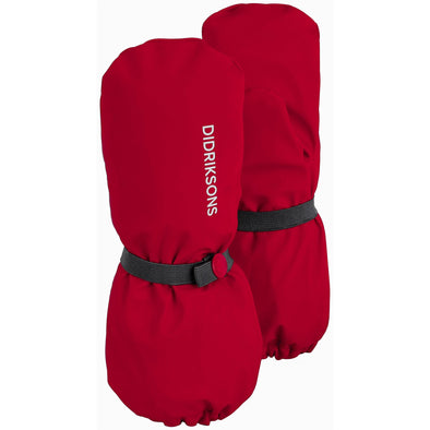 Didriksons Kids Pileglove 3 Waterproof Mittens | Chili Red
