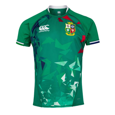 Canterbury British & Irish Lions Rugby Training Jersey | Mens | Bosphorus Green | 2021