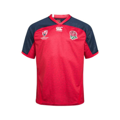 Canterbury Rugby World Cup 2019 England Away Pro Shirt | Union Red Marl | 2019 | Kids