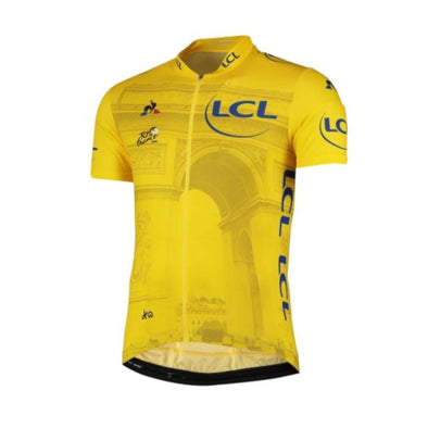Tour de France Le Coq Sportif Men's Replica Jersey | Arrivee | 2019