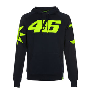 MotoGP Valentino Rossi Men's Sun and Moon Hoodie | Navy | 2019