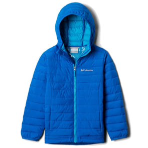 Columbia Powder Lite Infant Hooded Jacket | Super Blue