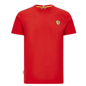 Scuderia Ferrari Men's Small Shield T-shirt | Red | 2020