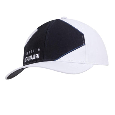 AlphaTauri Official Teamline Baseball Cap | White | Adult | 2021