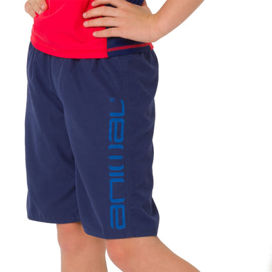 Animal Kids Tannar Boardshorts | Nautical Blue