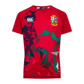 Canterbury British & Irish Lions Rugby Superlight Graphic Tee | Kids | Tango Red | 2021