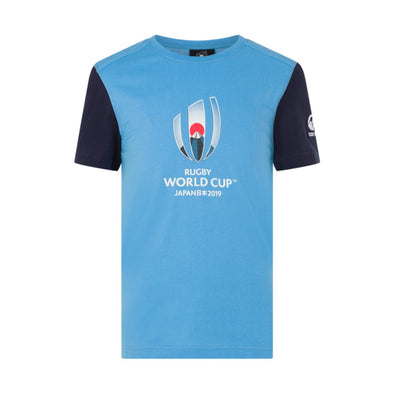 Canterbury Rugby World Cup 2019 Large Logo Graphic T-shirt | Laxa Blue | Kids