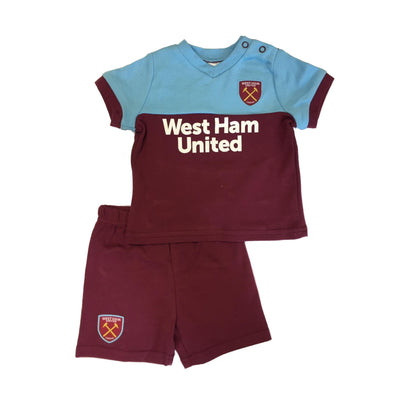 West Ham United Baby/Toddler Kit T-shirt & Shorts Set | 2019/20 Season