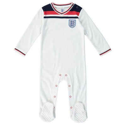 England Football 1982 Retro Baby Sleepsuit | 2021