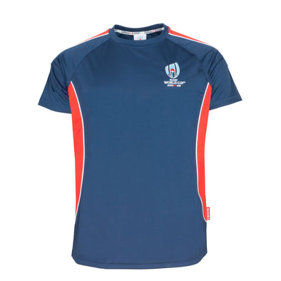 Rugby World Cup 2019 Men's Panel Poly T-Shirt | Navy