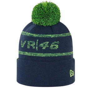 Valentino Rossi VR46 New Era Magic Bobble Hat  | Adult | Blue | 2021