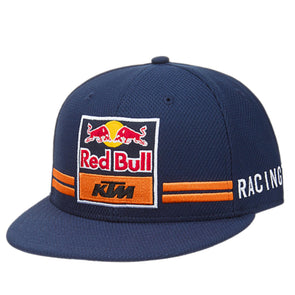 Red Bull KTM Racing Team New Era 9Forty Flat Peak Baseball Cap | Navy | Adult