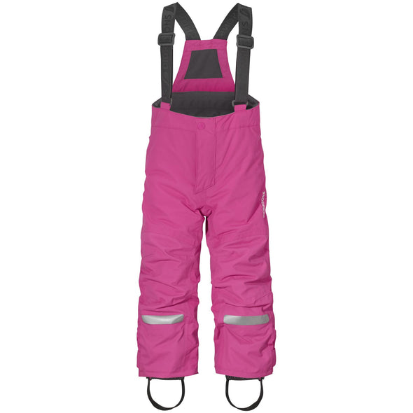 Didriksons Idre 3 Kids Junior Ski Pants Salopettes | Pink