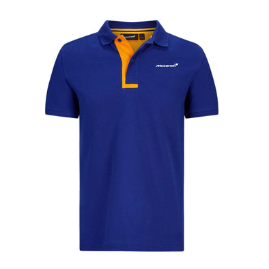 McLaren Essentials Polo Shirt | Blue | Adult | 2021