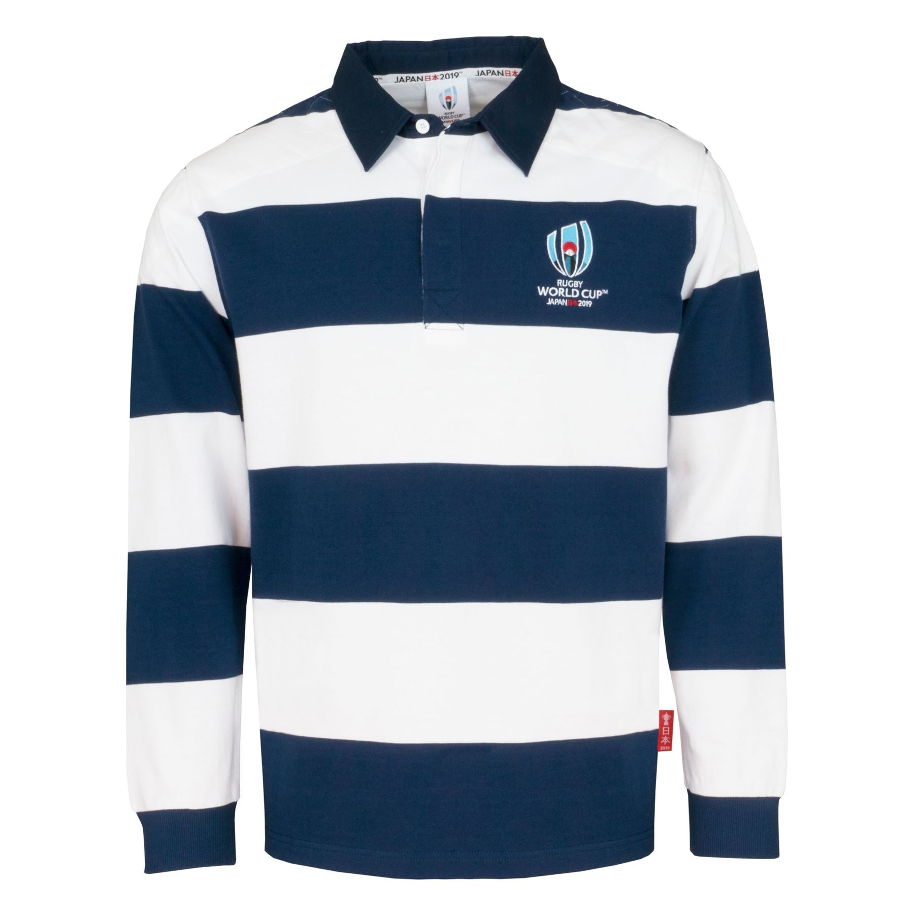 cab72bec42e Rugby World Cup 2019 Men's Long Sleeve Stripe Rugby Shirt – Sportbaby