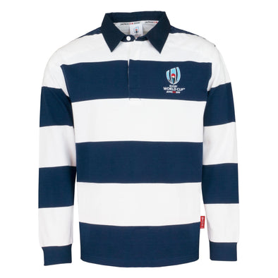 Rugby World Cup 2019 Men's Long Sleeve Stripe Rugby Shirt