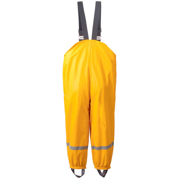 Didriksons Plaskeman 2 Kids Waterproof Trousers | Yellow