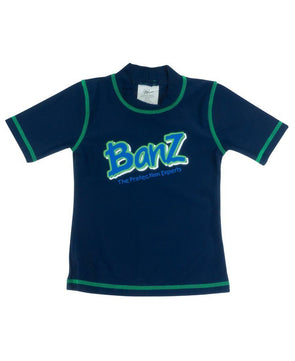 Banz Kids UV Short Sleeved Rash Top | Navy