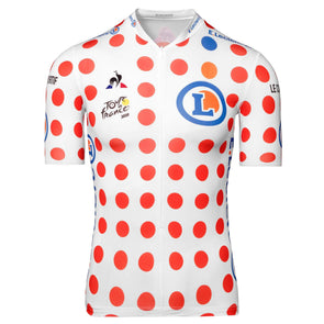 Tour de France Le Coq Sportif Men's Replica King of the Mountains Jersey | Polka | 2020