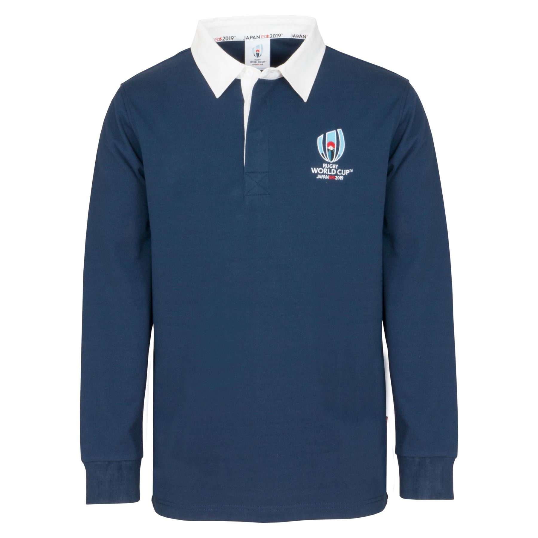 e401ad07b3c Rugby World Cup 2019 Men's Long Sleeve Classic Rugby Shirt | Navy ...