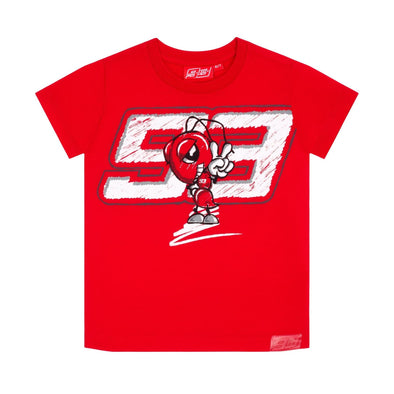 Marc Marquez 93 Kids T-shirt | Red | 2021