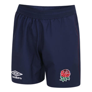 Umbro England RFU Rugby Alternate Shorts | Blue | 2020/21 | Junior