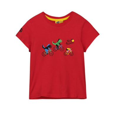 Tour de France Kid's Dragon T-Shirt | Red | 2019