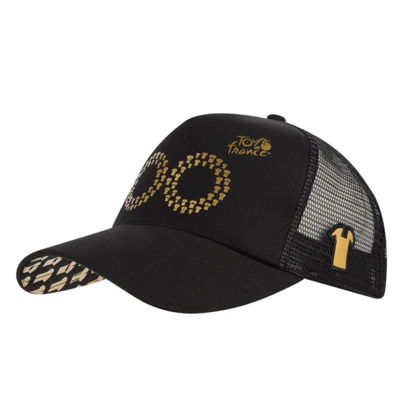 Tour de France 100 Years Anniversary Trucker Cap | Black | 2019 | Adult