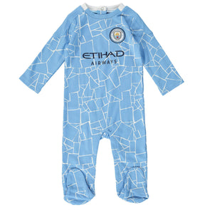 Manchester City Baby Kit Sleepsuit | 2020/21
