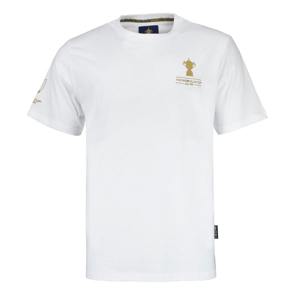 Rugby World Cup 2019 Webb Ellis Cup T-Shirt | White