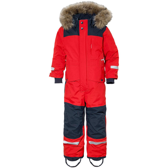 Didriksons Bjornen 3 Kids Snowsuit | Chili Red
