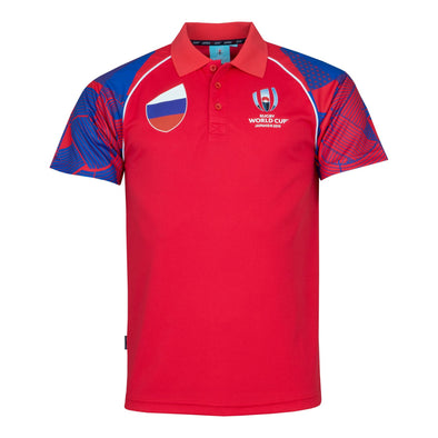 Rugby World Cup 2019 Men's Polo Shirt | Russia