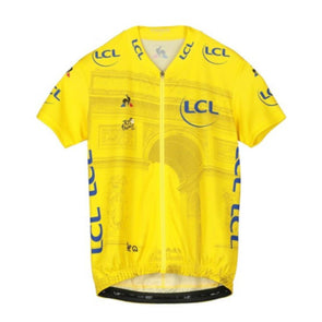 Tour de France Le Coq Sportif Kids Replica Arrivee Jersey | Yellow | 2019